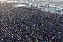 Karabük'te 10 binler şehidine ağladı!