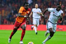 Gomis'in kaçan penaltısında GS TV spikerleri...