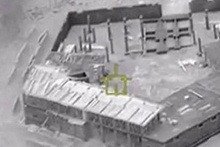 Afrin'deki gizli Pentagon üssü görüntülendi
