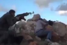 Afrin'de sıcak çatışma görüntülendi