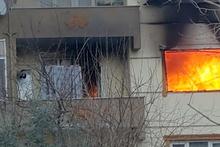 Ev sahibine kızdı evi ateşe verdi!