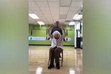 93 yaşındaki kadının mutluluktan havalara uçtuğu muhteşem anlar