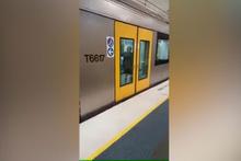 Teknolojinin son harikası metro görenleri hayrete düşürdü