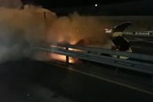 İstanbul trafiğini kilitleyen yangın!