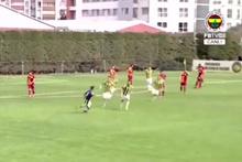 Fenerbahçe Galatasaray U21 derbisinde nefis gol