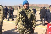 Afrin şehidi Binbaşı Dunca toprağa verildi