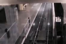 İstasyona giren hayalet tren, herkesi şaşkına çevirdi