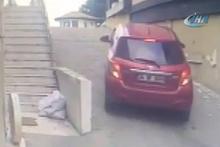 Kadınların güldüren kaza kritiği kamerada