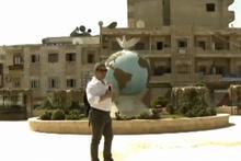 Veyis Ateş, terörden temizlenen Afrin'de