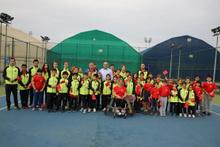 Yıkılan spor vakfı binası arazisine 6 tenis kortu geliyor