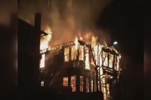 Heybeliada'da korkutan yangın