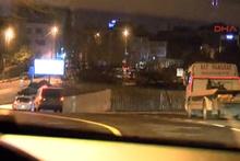 Kadıköy'de başlayan kovalamaca kaza ile bitti