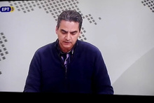 Yunanistan'da PAOK taraftarları televizyon kanalını bastı!