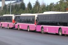 Dikkat bugün otobüsler trafiğe çıkmıyor!