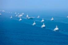 ABD uçak gemisinin gövde gösterisine Çin'den dev yanıt