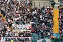 Akhisarspor-Beşiktaş maçında tribünler İzmir Marşı ile inledi!