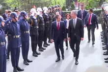 Milli Savunma Bakanı Canikli ile NATO Genel Sekreteri Stoltenberg görüşüyor