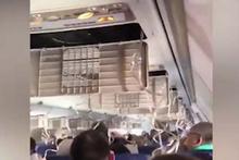Havada motoru patlayan uçağın görüntüleri ortaya çıktı