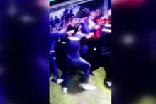 Fenerbahçe-Beşiktaş derbisinde yaşanan koridor kavgası kameralara yansıdı