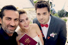 Seray Sever 10 yaş küçük sevgilisi Eray Sünbül ile evlendi