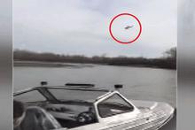 Feci kaza! Uçak göle böyle çakıldı: 2 ölü