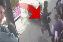 Hamile kadına sokak ortasında akıl almaz saldırı!