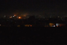 Kamışlı'da büyük patlama! Bölgeyi yoğun duman kapladı