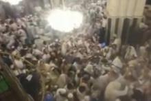 Yüzlerce İsrailli İbrahim Camii'ni bastı