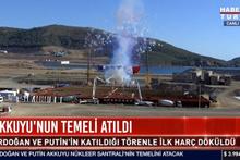 Tarihi gün! Putin Ankara'da Akkuyu'nun temeli atıldı