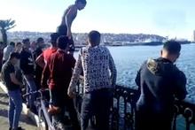 Ölüme davetiye çıkardılar! Mültecilerin tehlikeli serinleme yöntemi