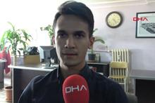 Liseli Batuhan milletvekili aday adayı oldu