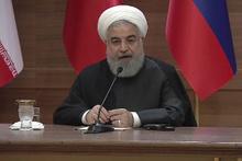 Ruhani: Bölgemizin haritası hiçbir şekilde değiştirilmemeli