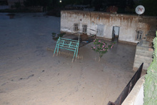 Evleri su bastı, hayvanlar telef oldu