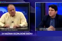 Canlı yayında duyurdu! Cem Toker, CHP'den Meclis'e mi giriyor?