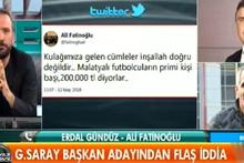 Galatasaray başkan adayı yayından alındı