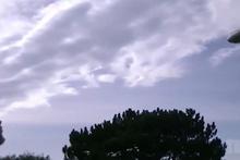 Gökyüzünden gelen tuhaf sesler ürküttü