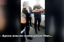 Müdür'den aracını aramak isteyen polise skandal sözler!