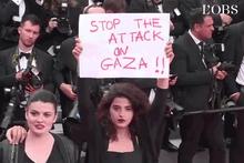 Lübnanlı oyuncunun Cannes'daki Filistin mesajı büyük ses getirdi