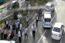 Bağcılar'da kaza sonrası levye ve beyzbol sopalı kavga