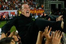 G.Saray şampiyon oldu Fatih Terim omuzlarda!