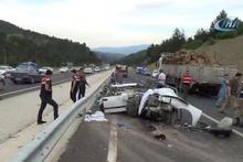Korkunç kaza! Üç genç kız feci şekilde can verdi...