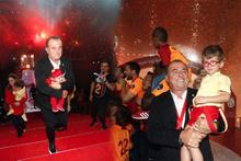 İmparator Fatih Terim şampiyonluğu torunlarıyla kutladı