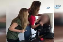 3 kadın ofisi basıp tehditler savurdu: Satarız seni