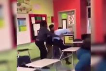 Öğretmen ile öğrencisi birbirine girdi