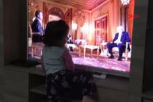 Minik Rabia'dan Cumhurbaşkanı Erdoğan'a destek