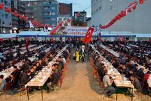 Ağrı'da Kardeşlik İftarına 3 bin kişi katıldı