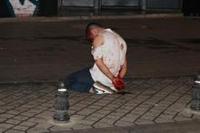 Kadıköy'de dehşet! Polis gözaltına almasına diye