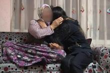 Mezarlıkta yakalanan kızın ailesinden medyaya tepki