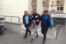 Akşener'in evinin karşısına o yazıyı yazanlar gözaltına alındı