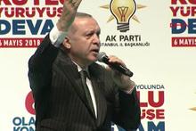 Erdoğan akitleşti partililer böyle tekrar etti